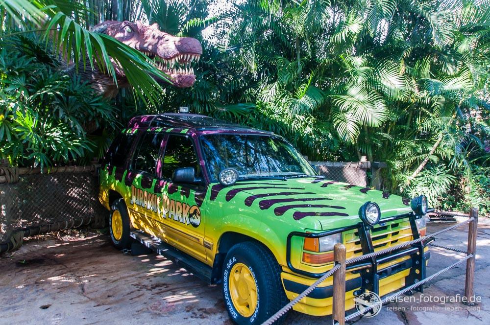 Szenerie im Jurassic Park