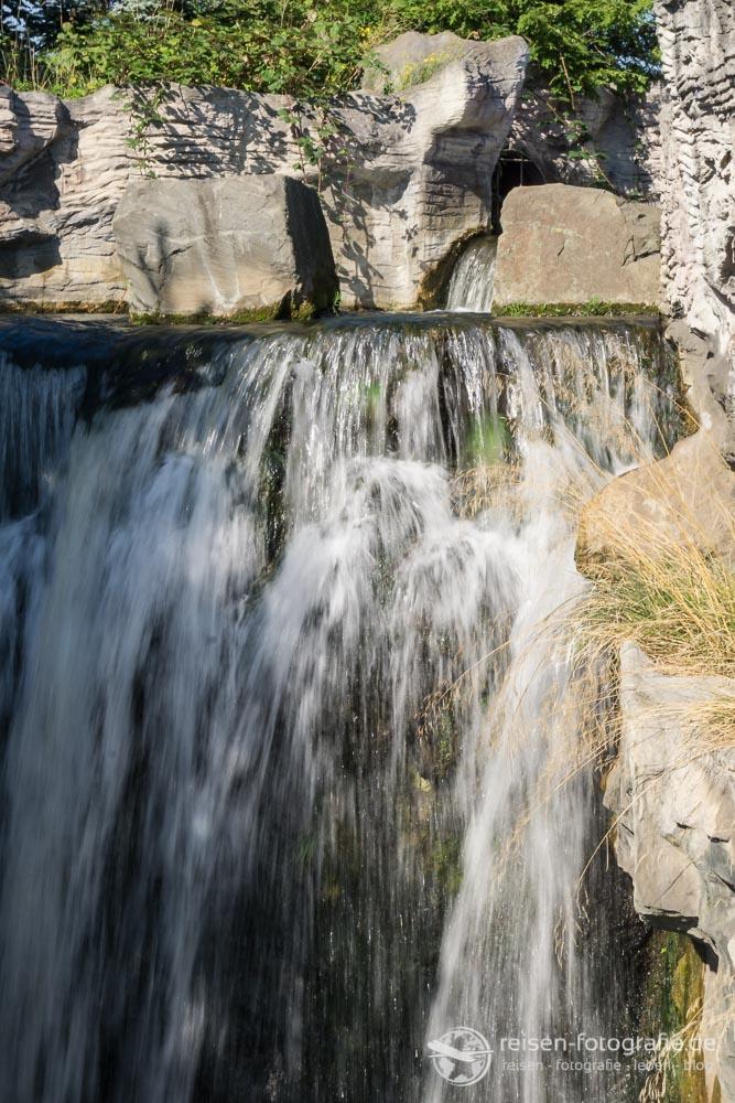 Wasserfall lange Belichtung