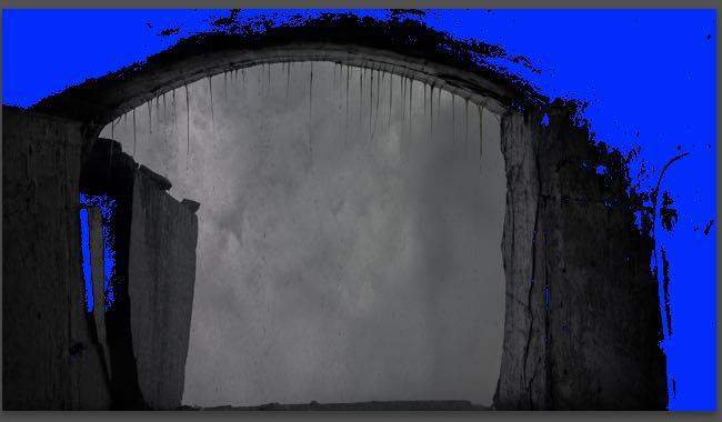 Anzeige der schwarzen Flächen in Lightroom