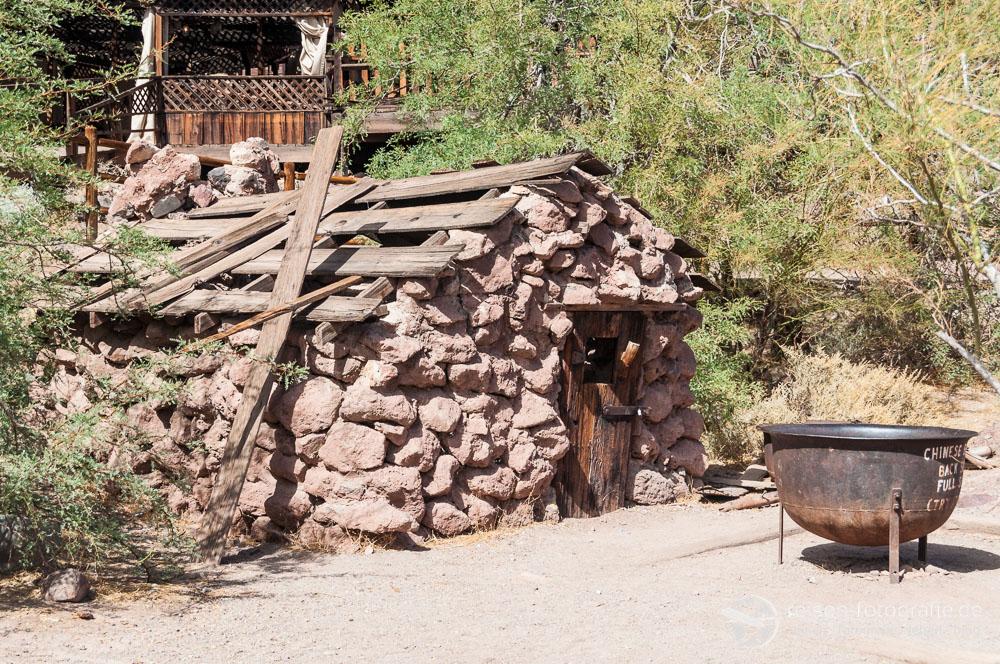 Hütte eines chinesischen Einwohners