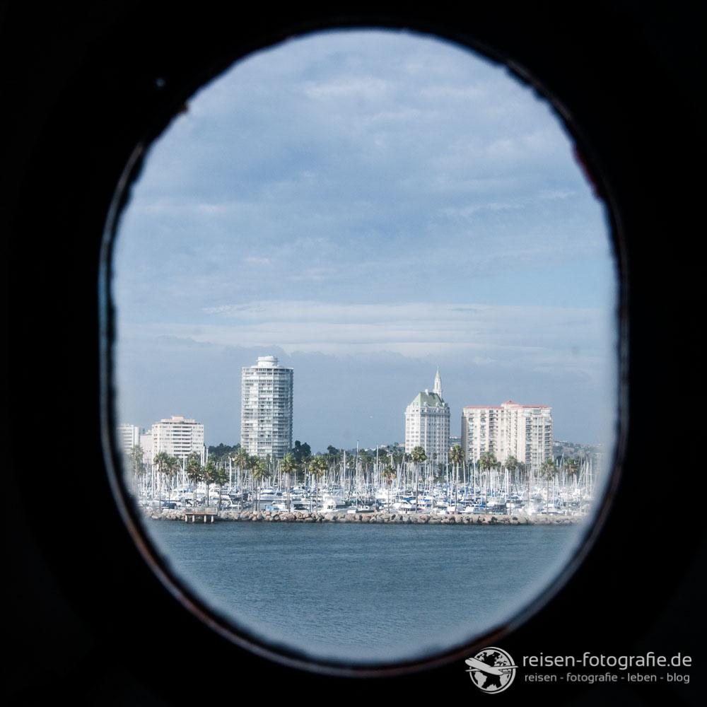Aussicht auf Long Beach