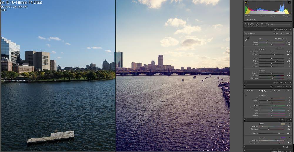 Summerbreeze Sunglare Effekt