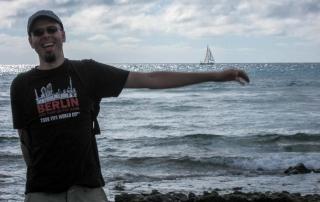 Ich freue mich, ich bin auf Fuerteventura