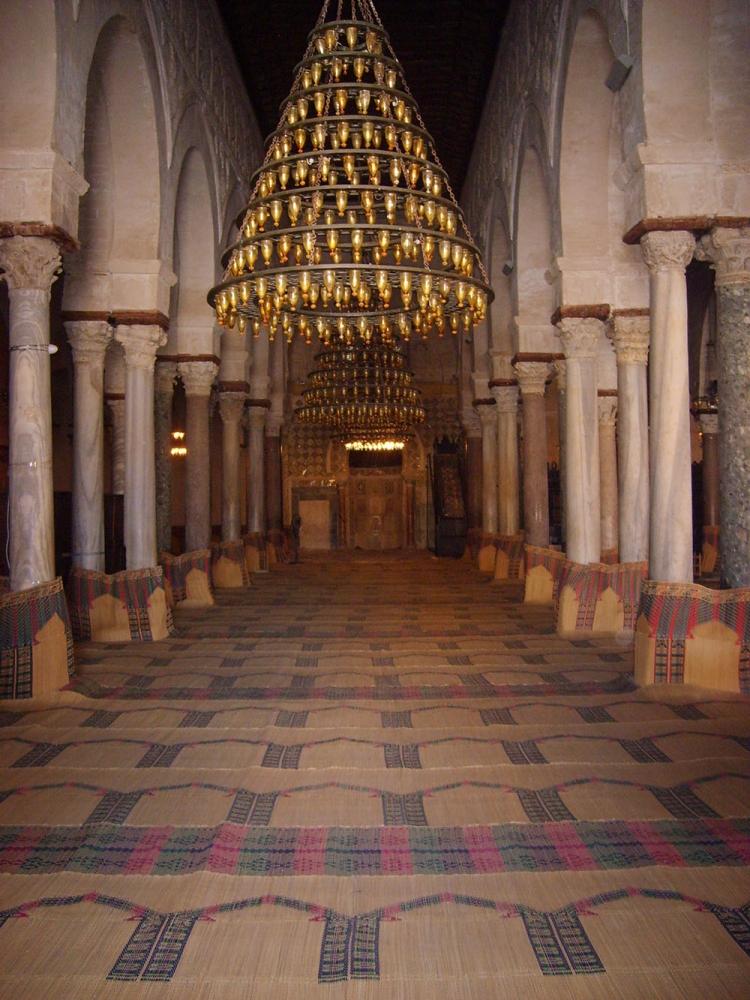 Gebetsraum Moschee Kairouan