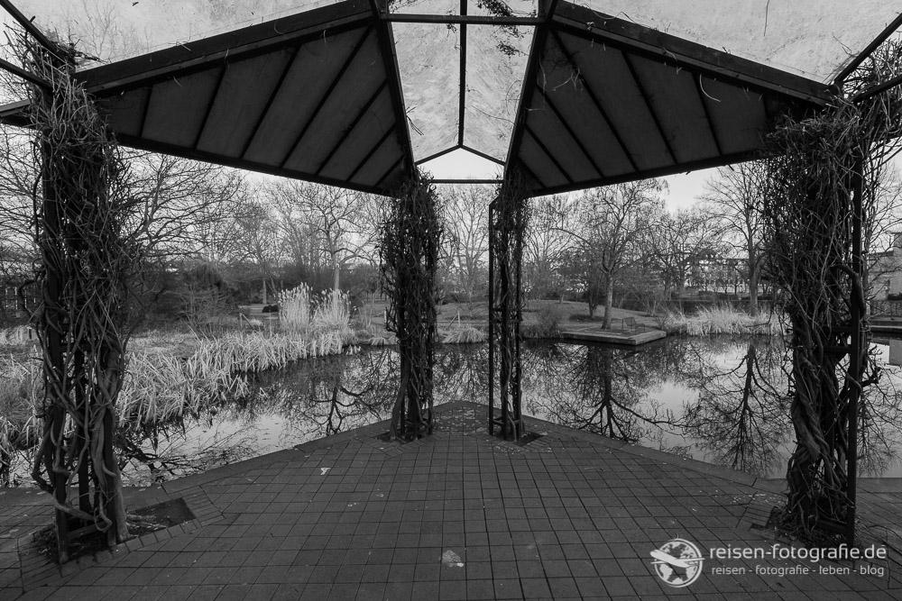 Park an der Stadthalle Mülheim Ruhr