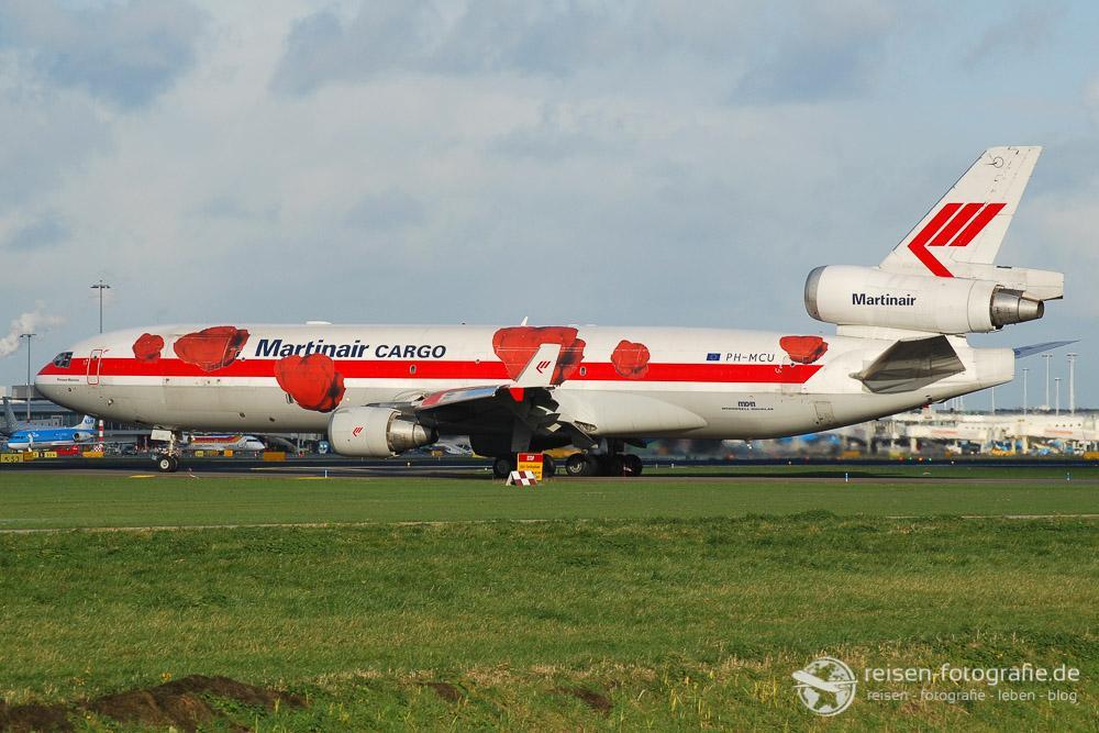 Martinair Cargo mit Tulpen