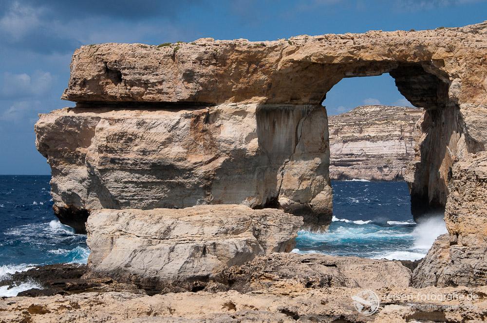 Azure Window auf Gozo