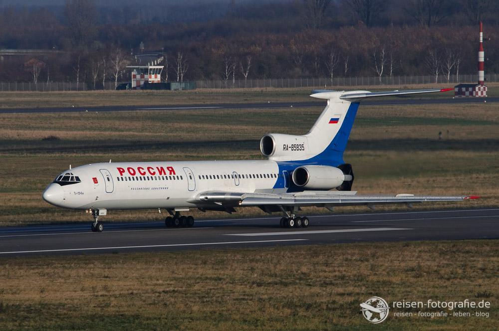 Tupolev 154M - heute (leider) fast nicht mehr zu sehen
