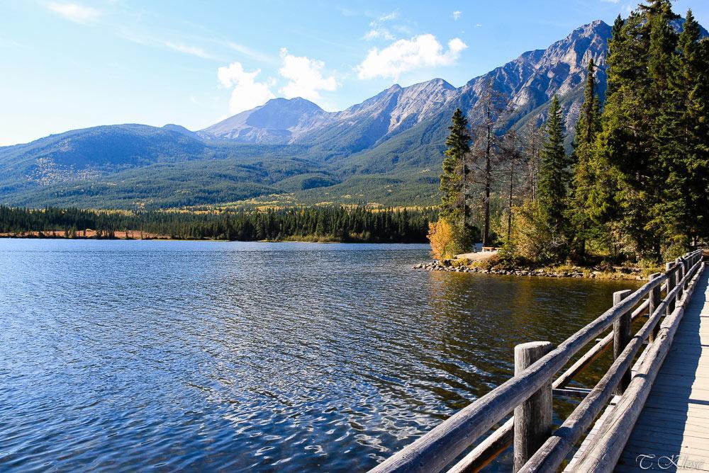 Pyramid Lake, Jasper Nationalpark, Alberta