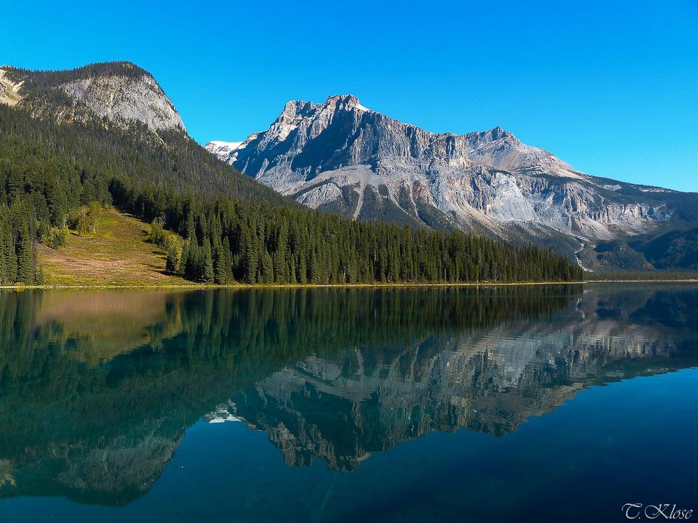 Emerald Lake, Yoho Nationalpark, British Columbia