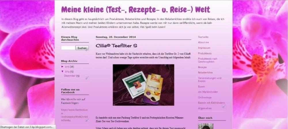 Christinchen84 bei Blogspot