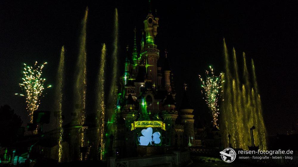 St. Patrick's Day Feuerwerk