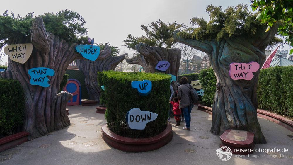 Irrgarten im Disneyland