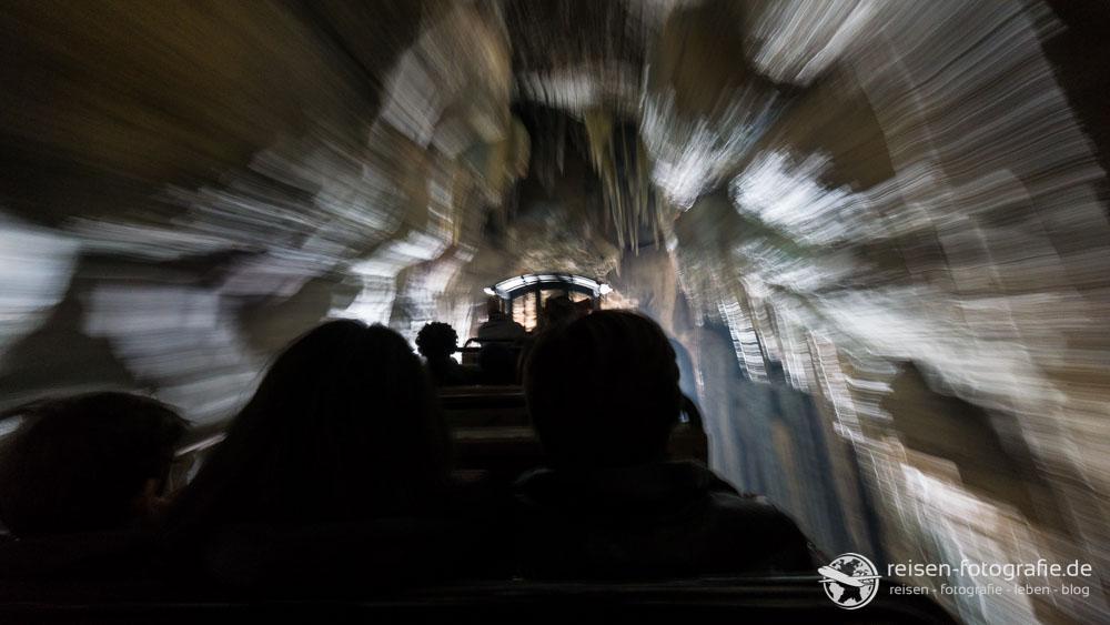 Big Thunder Mountain - im Tunnel - irgendwie cool geworden das Bild