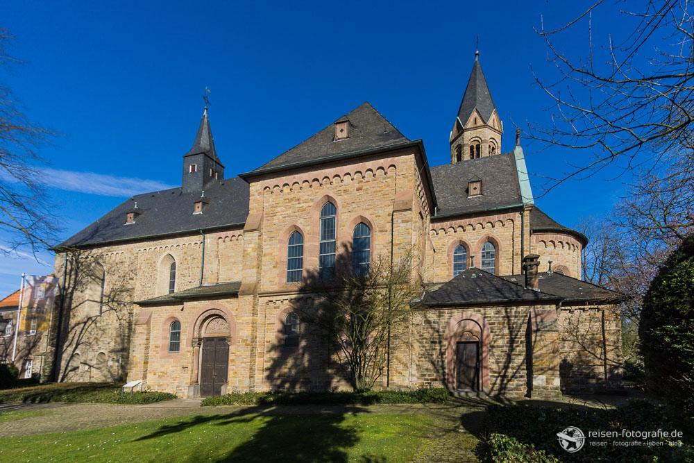 Klosterkirche in Mülheim Saarn