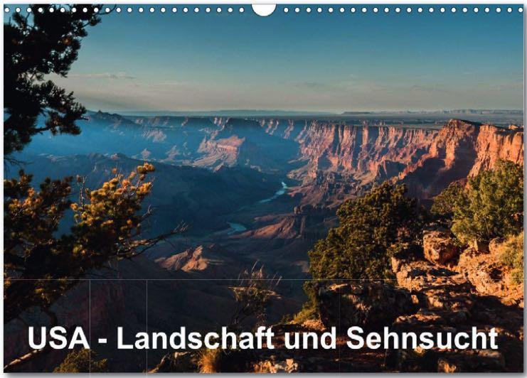 Kalender USA Landschaft und Sehnsucht
