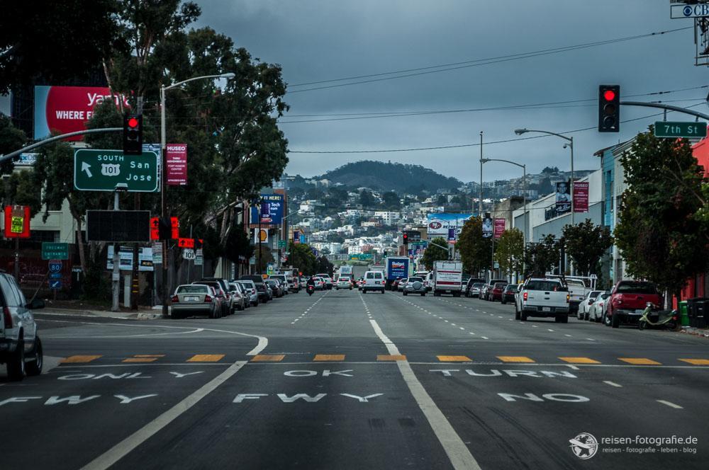 Kreuzung in LA