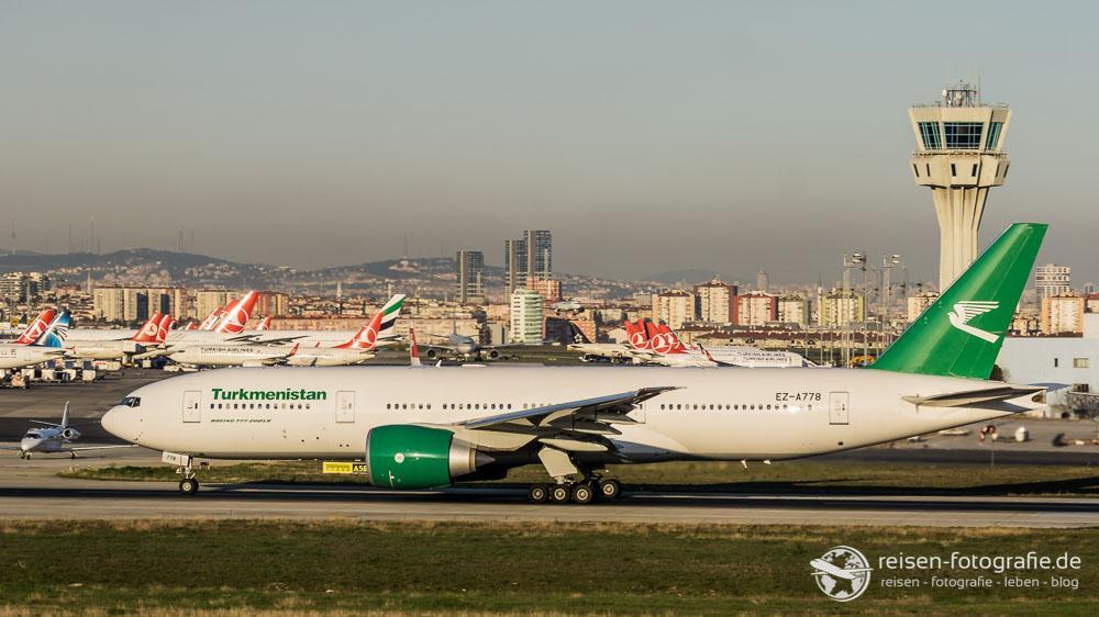 Turkmenistan Airlines - Boeing 777-22K/LR