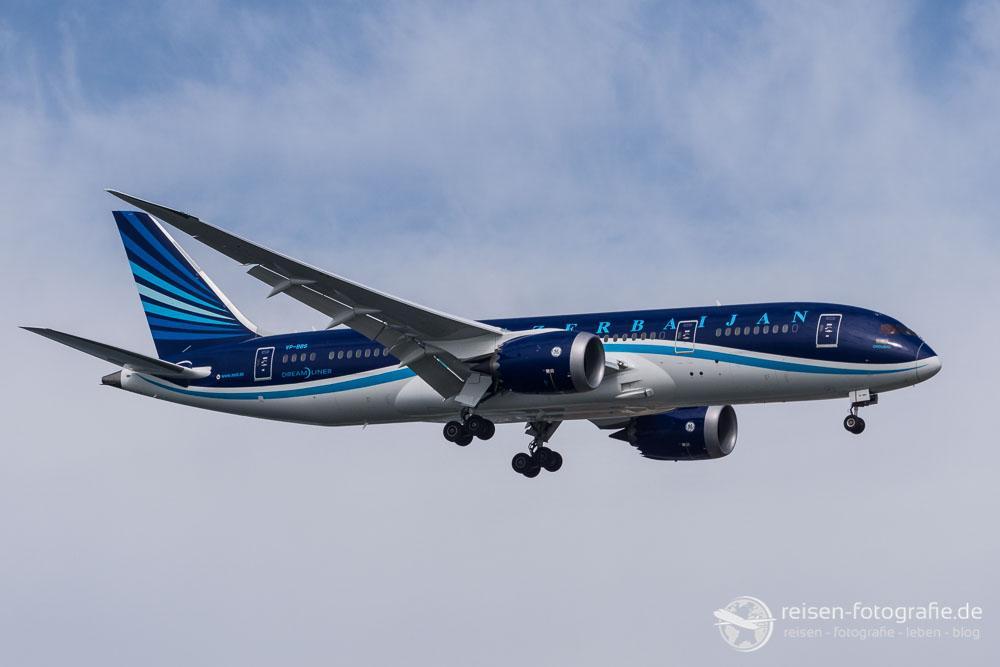 Azerbaijan Airlines AZAL - Boeing 787-8 Dreamliner