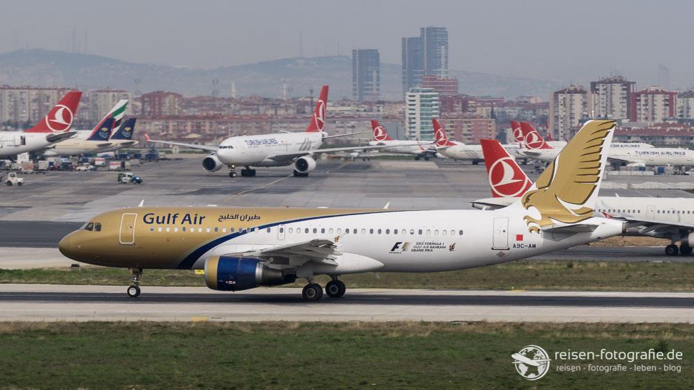 Gulf Air - Airbus A320-214