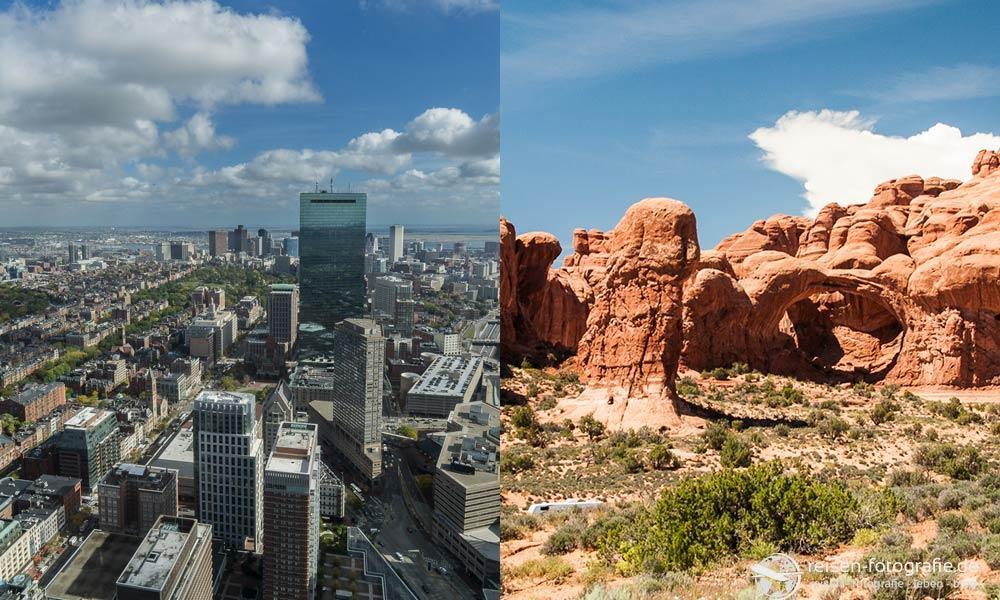 Stadt oder Natur - beides hat ihren Reiz