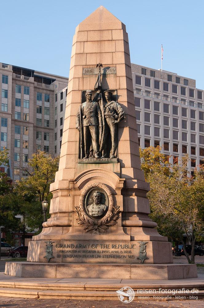 Grand Army of the Republic Denkmal