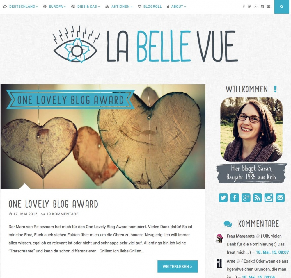 La Belle Vue - Der Blog von Sarah
