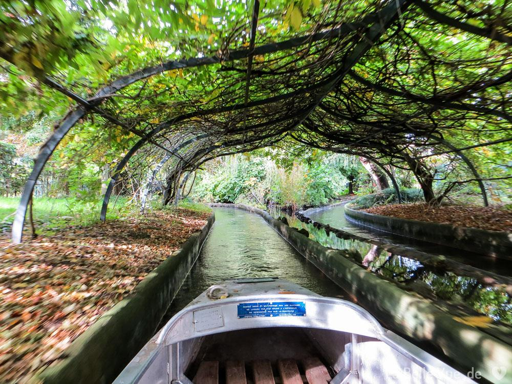 Boot fahren im Jardin d'Acclimatation