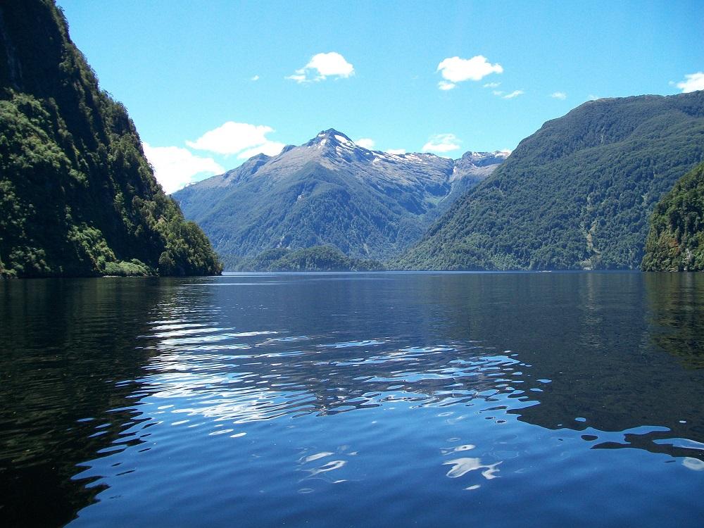 Blick auf den Doubtful Sound.