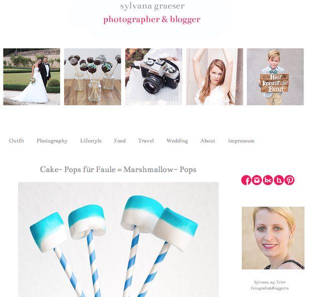 Der Blog von Sylvana Graeser