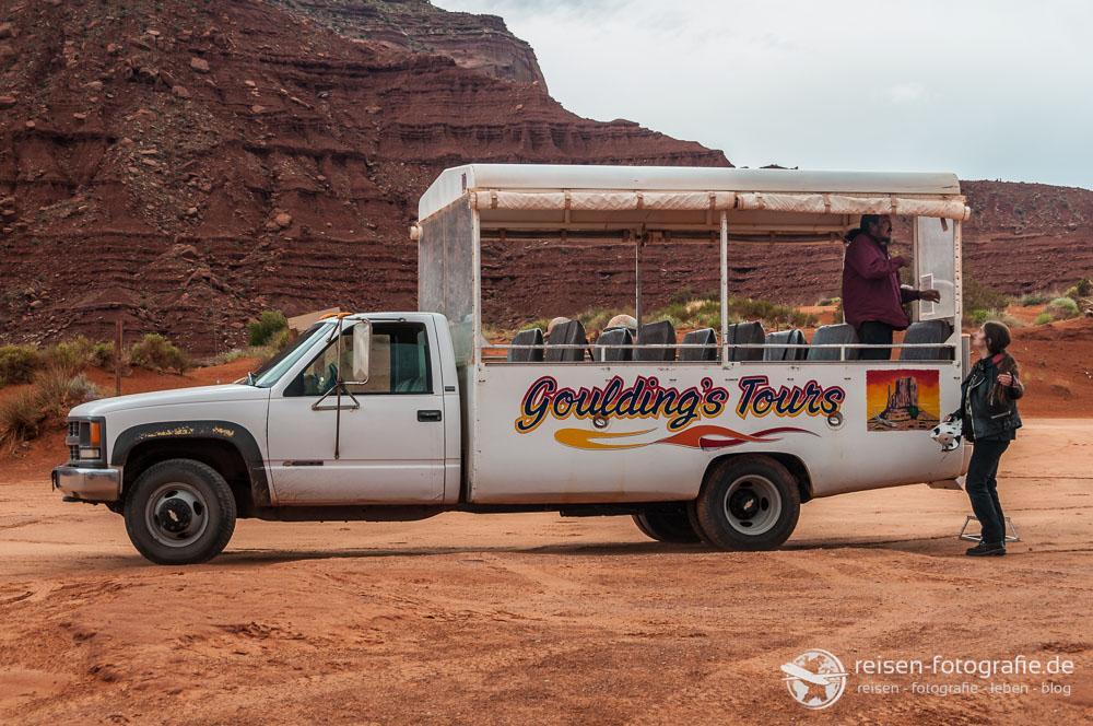 Tour vom Campground durch das Monument Valley