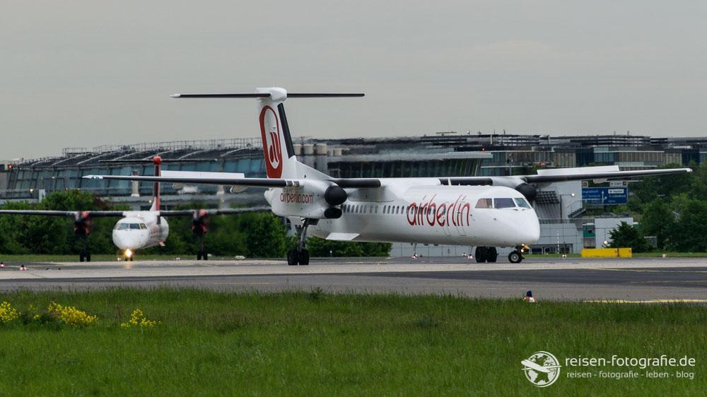 Air Berlin Treffen am LineUp der Runway 23