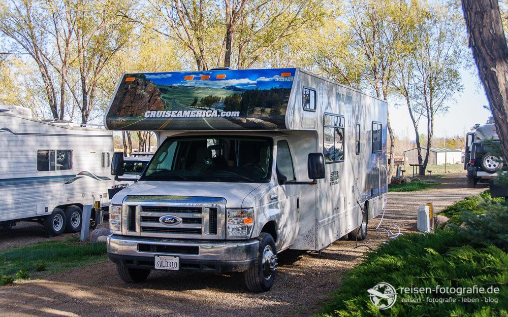 Wohnmobil statt Zelt