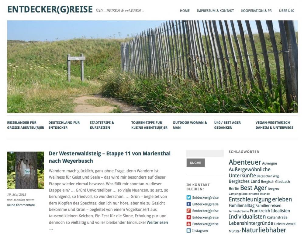 Entdecker(g)reise Blog