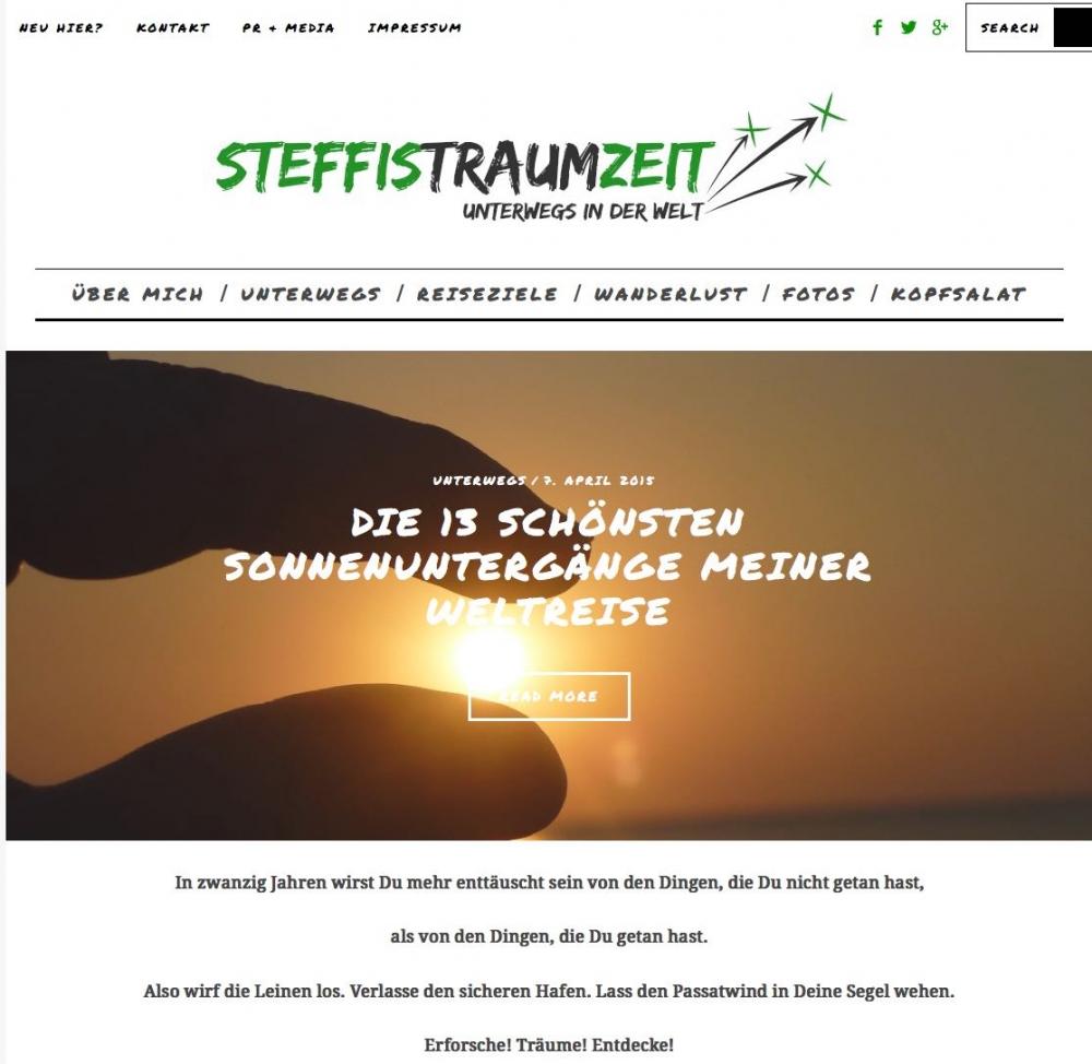 SteffisTraumzeit Blog