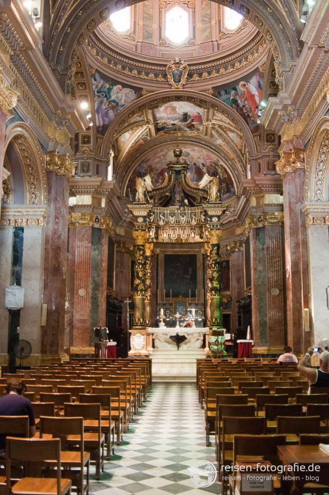 Kirche auf Malta von Innen