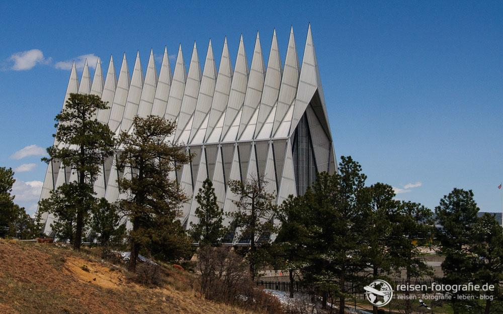 Kirche in der Air Force Academy in Colorado Springs