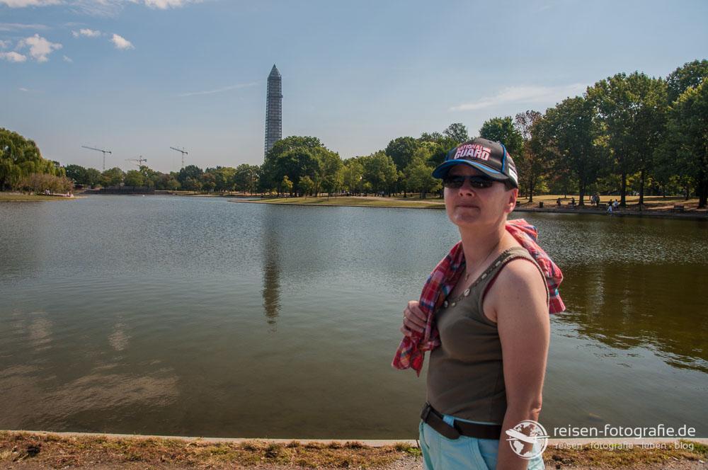 Blick über die National Mall