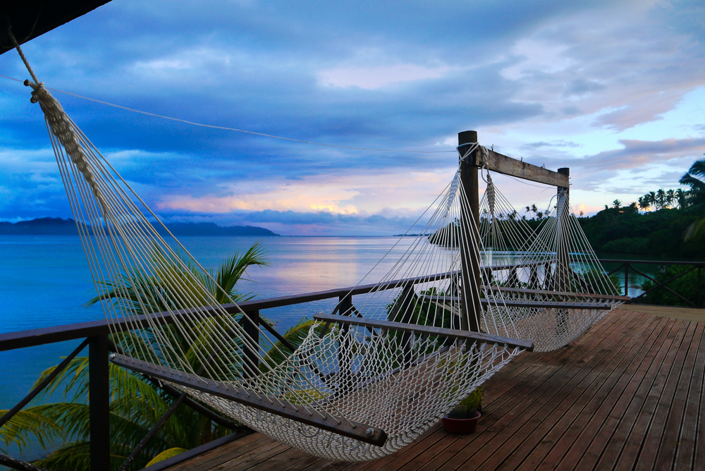 Fidschis lernen einem das Entspannen