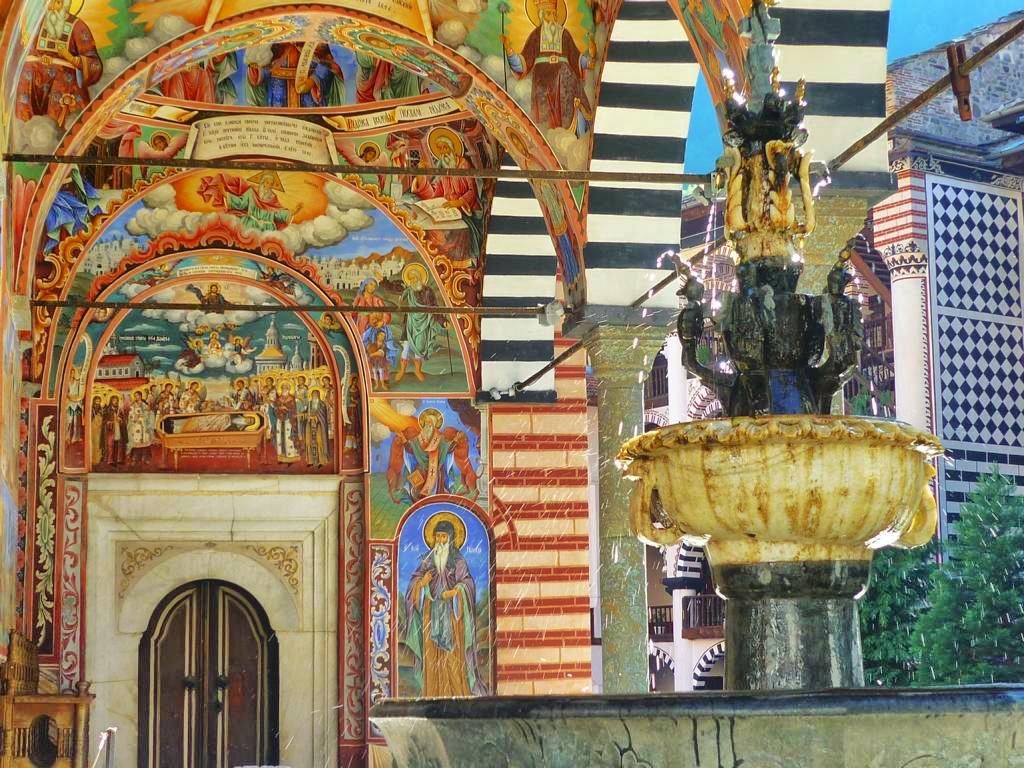Das einzigartige Rila Kloster in Bulgarien