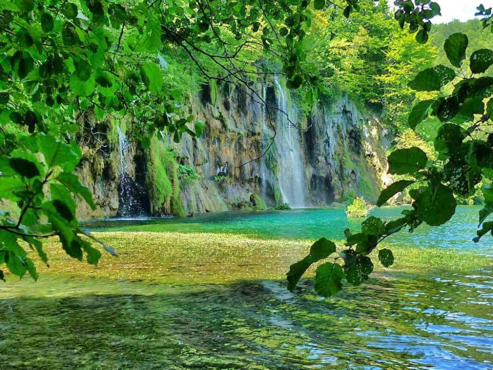Die wunderschoenen Plitvicer Seen in Koratien