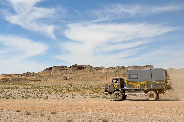 Loki - der Steyr 680 in der Wüste Gobi