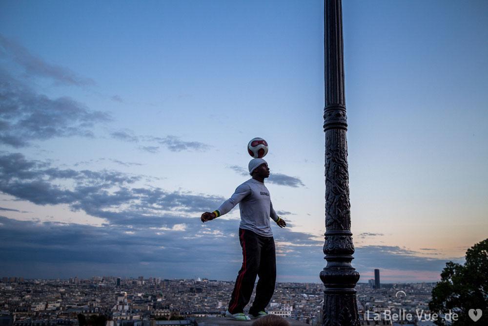 Straßenkünstler in Montmartre