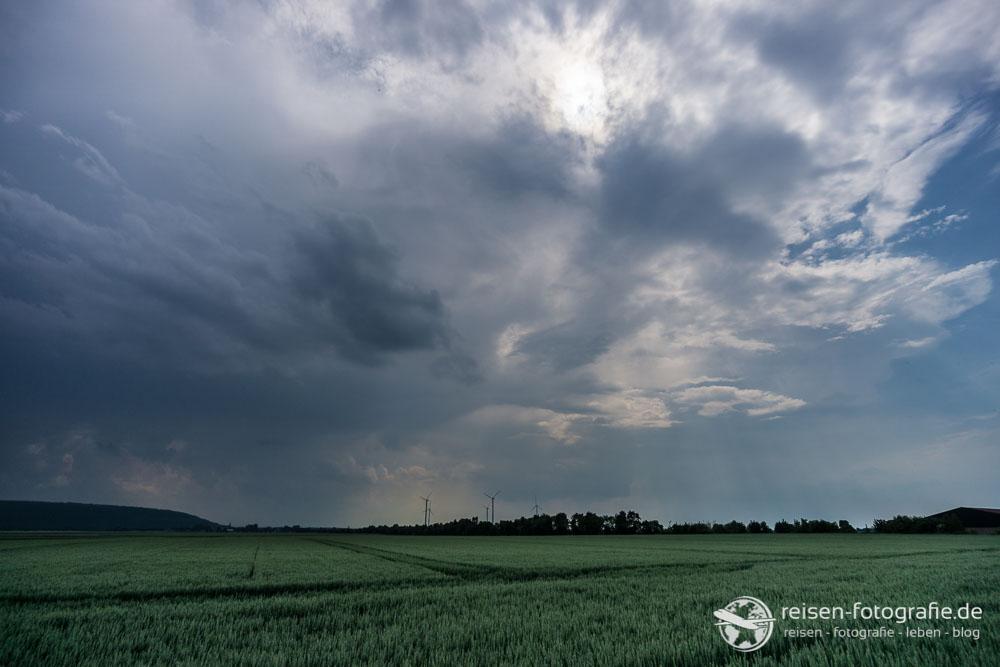 Gewitterwolken über dem Rheinland
