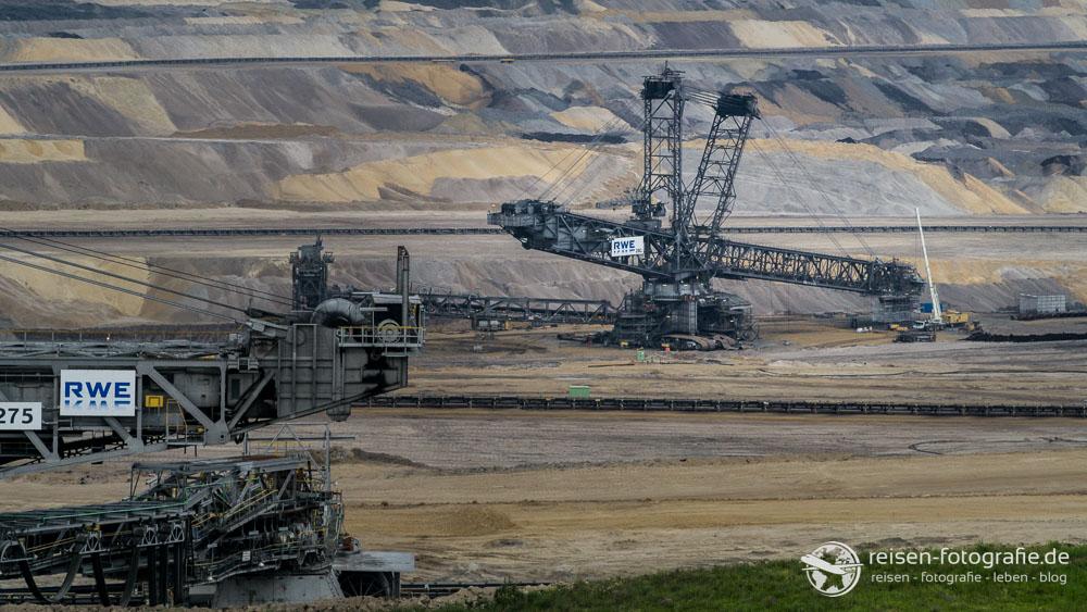 Abbau im Tagebau Inden