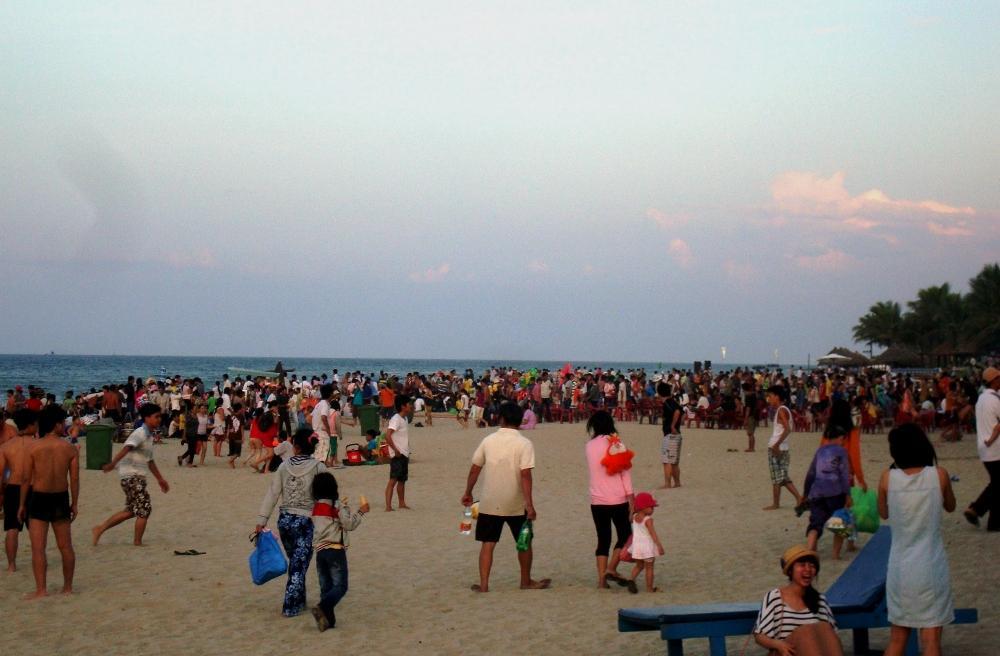 Strand auf Vietnamesisch