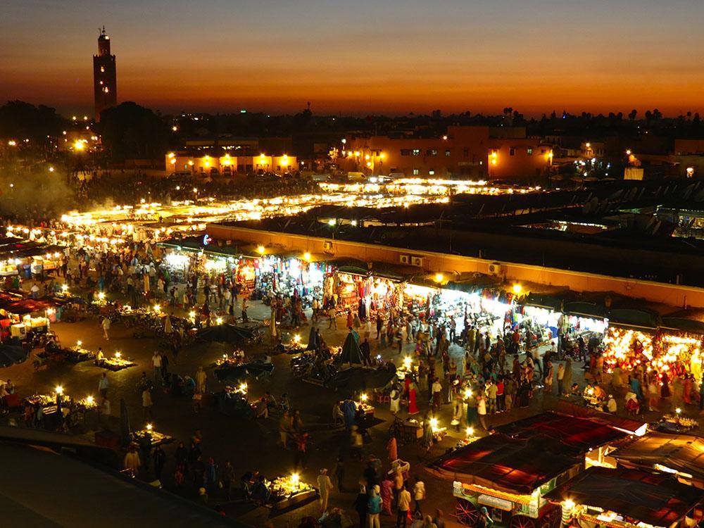 Marrakesch Djemaa Moschee