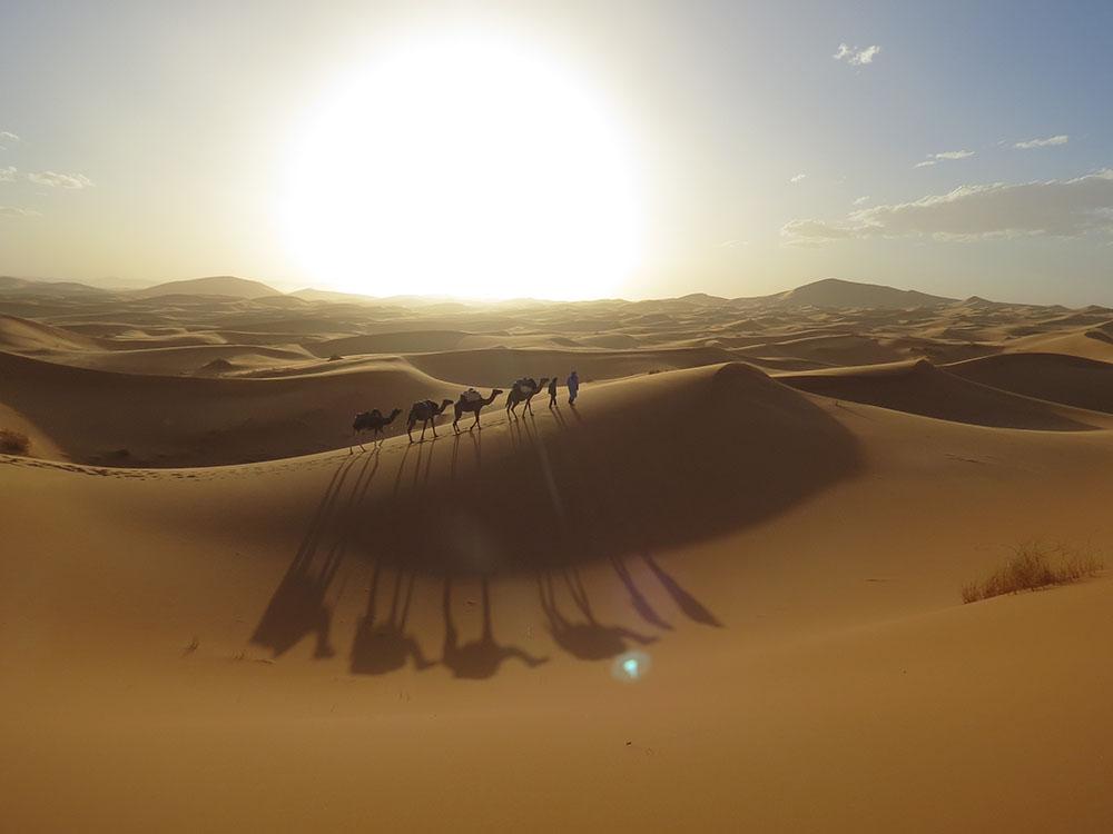 Sahara Wüste in Marokko