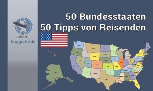 50 Bundesstaaten - 50 Tipps