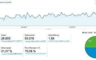Google Statistik 2. Quartal 2015
